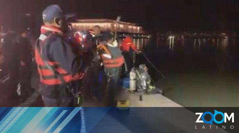 Policía investiga las causas del hundimiento de un vehículo con una persona en el río Potomac
