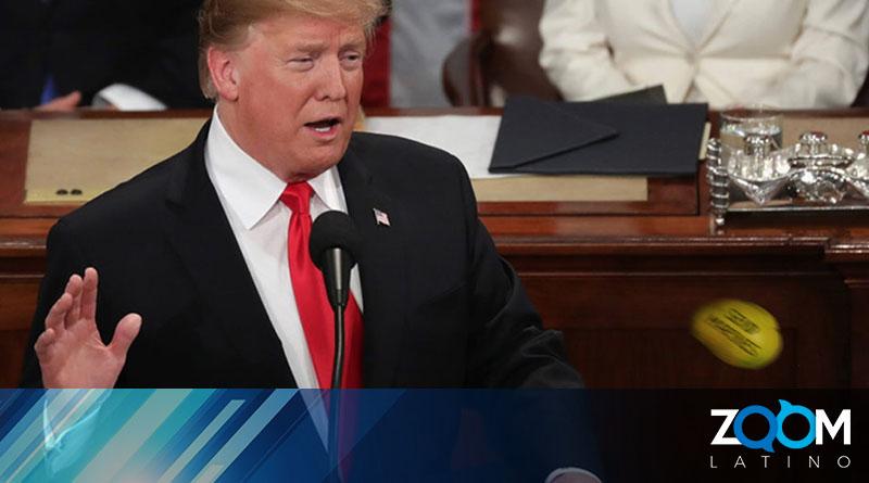 Bajo un clima de tensión en el Congreso el presidente Trump realiza su discurso