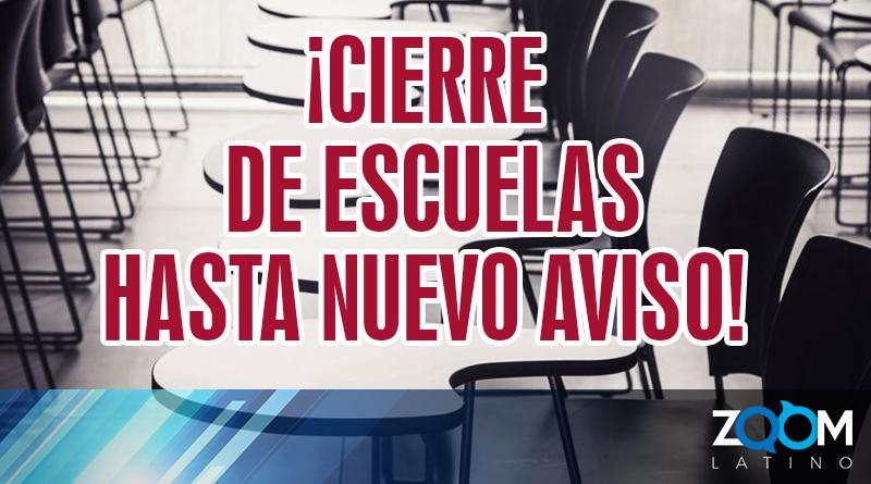 FCPS anunció que las escuelas estarán cerradas hasta nuevo aviso