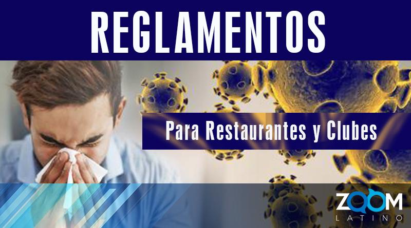 Departamento de Salud de DC anuncia reglamentación para restaurantes y clubes nocturnos