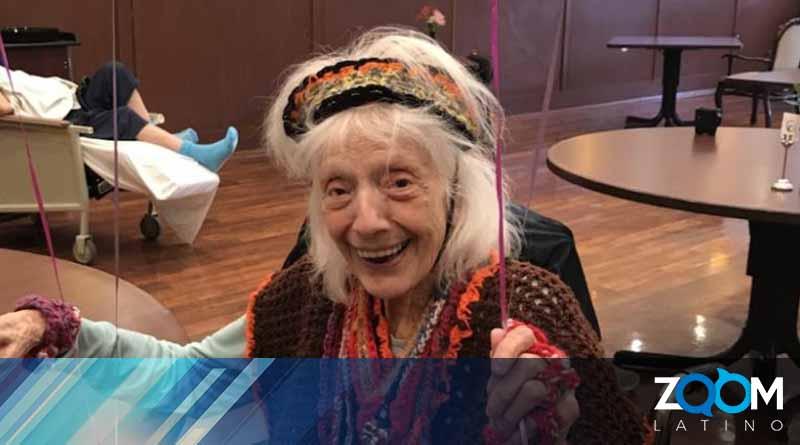 Anciana de 101 años se recupera de coronavirus en Nueva York