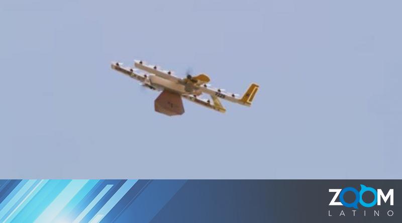 En Virginia usan drones para hacer envíos de alimentos y productos del hogar