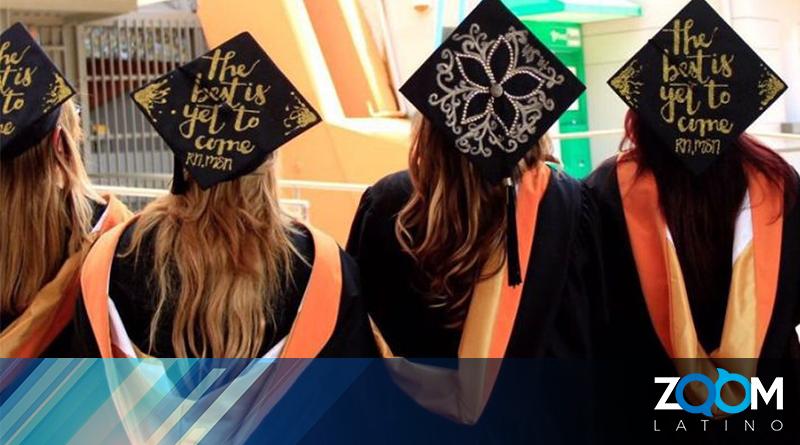 Escuelas públicas en Virginia celebraron graduaciones en persona.