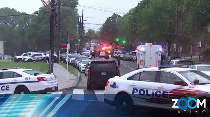 Un hombre fue capturado arrestado después de un enfrentamiento con la policía de DC
