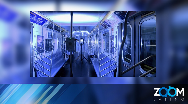 En Nueva York usarán luz ultravioleta para eliminar el coronavirus del transporte público