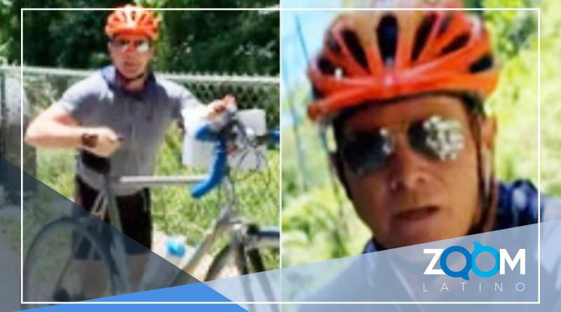 VIDEO: Policía de Maryland busca a ciclista que atacó a jovencitas que ponían letreros en un parque