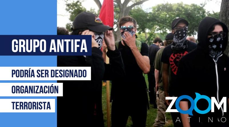 """Todo sobre el grupo """"Antifa"""" y por qué Trump los culpa de los disturbios recientes"""