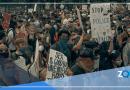 Policía dispersa a protestantes en DC