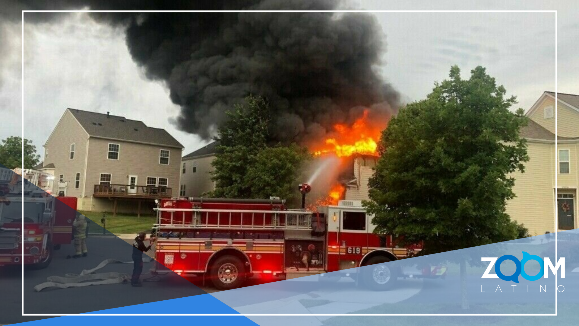 Batería de Litio causa incendio grave