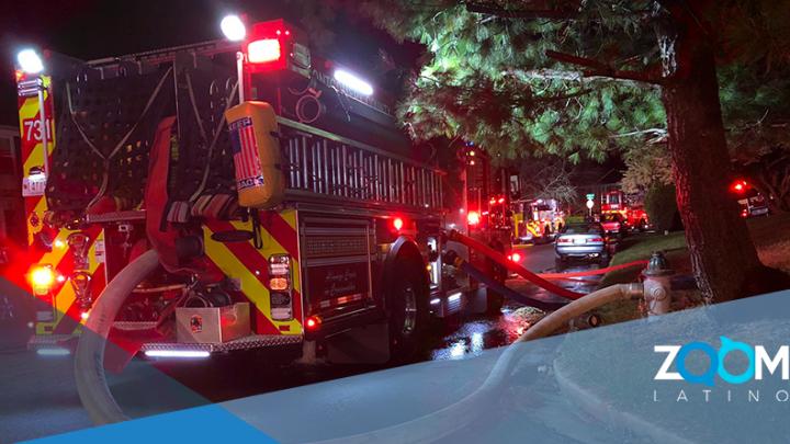 Incendio en el condado de Montgomery daña múltiples hogares.