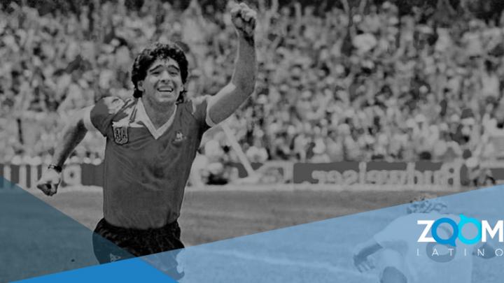 Diego Armando Maradona falleció de un paro cardiaco.
