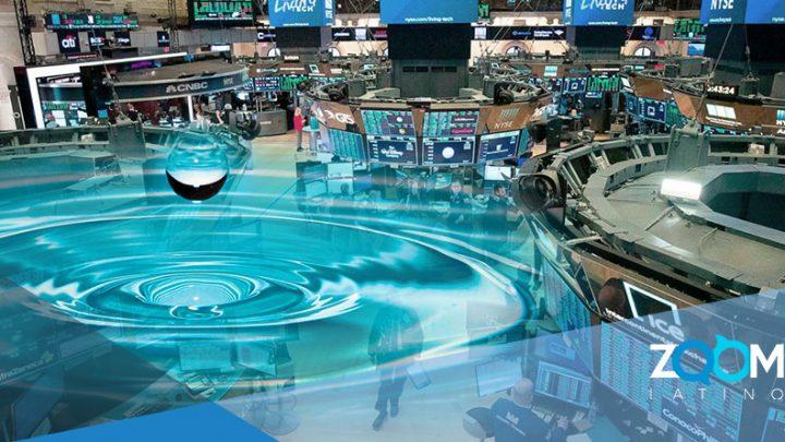 El agua empezó a cotizarse en el mercado de futuros de Wall Street