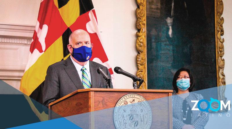 Hogan llama a la Guardia Nacional en Maryland para asistir con la distribución de la vacuna