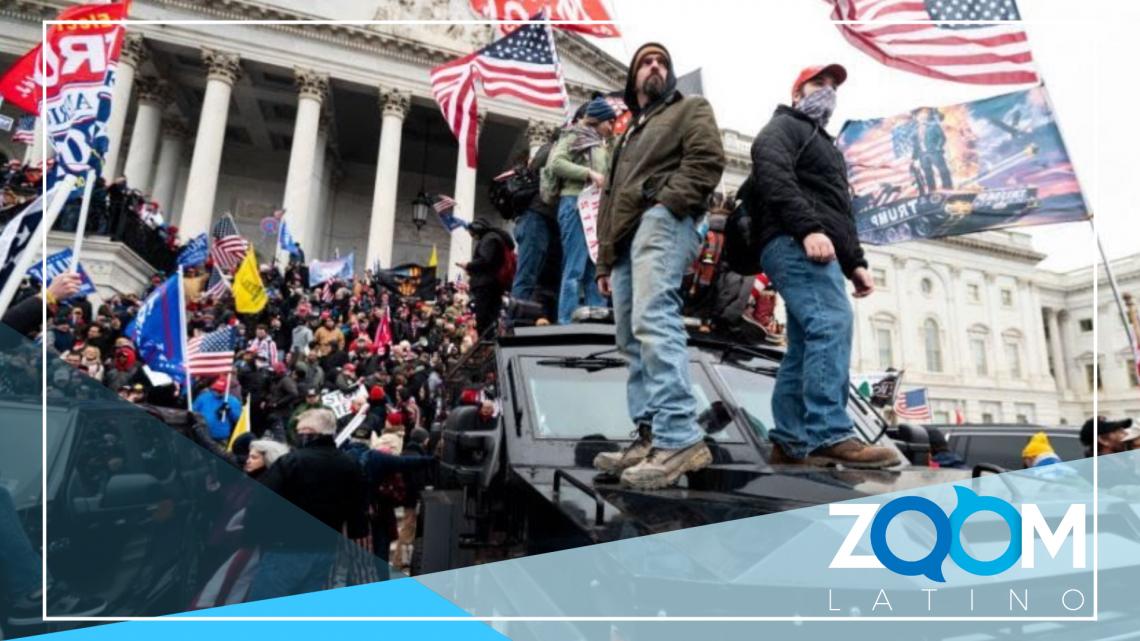 Continúan los arrestos a 6 meses del asalto al Capitolio
