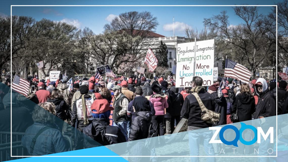 """Movilización ante protestas """"salvajes"""" pro-Trump"""