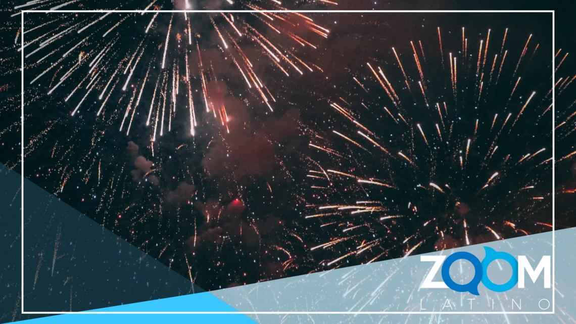 Inauguración del presidente termina en show de fuegos artificiales