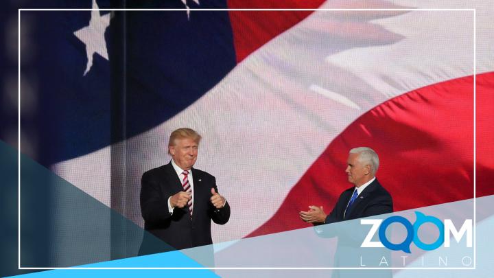 Después de unos días helados, Pence y Trump parecen llegar a una resolución