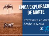 VIDEO: Hoy hablamos con un ingeniero de la NASA sobre el viaje a Marte