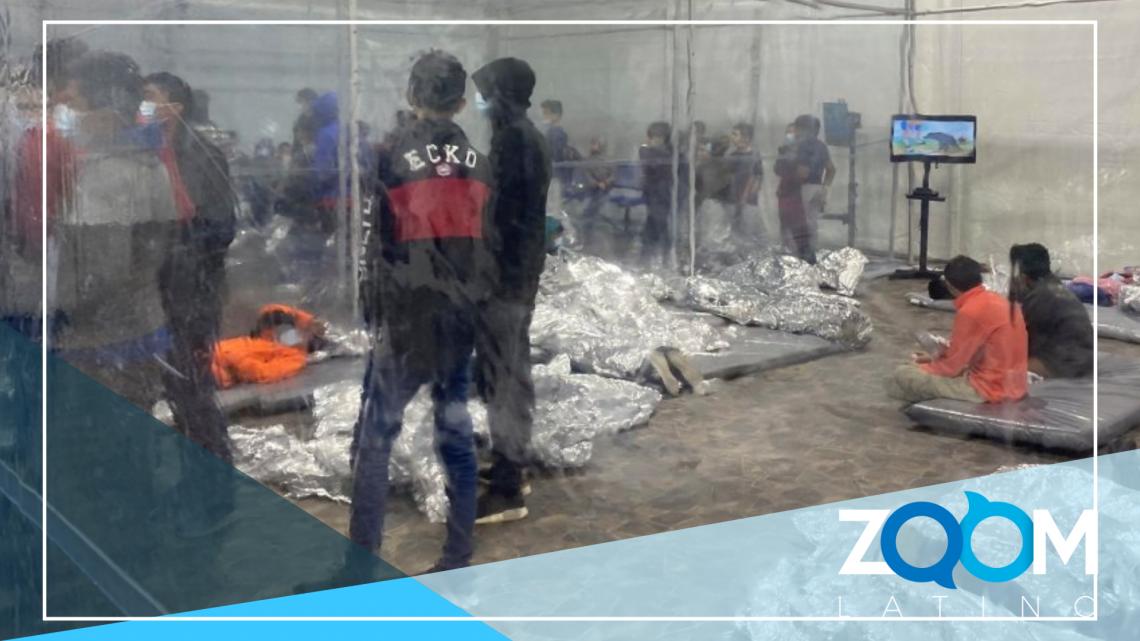 Surgen imágenes de la crisis migratoria de niños en la frontera
