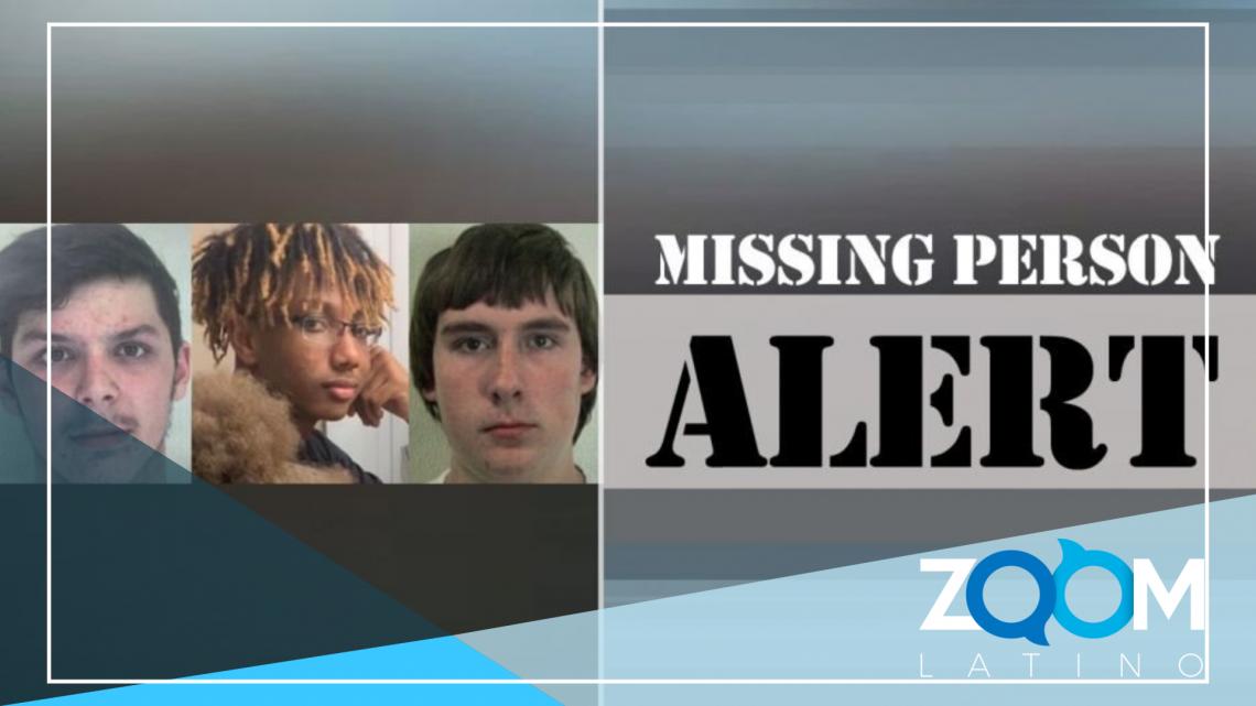 3 adolescentes del condado de Loudoun desaparecidos