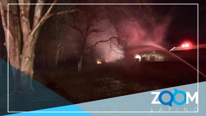 Explosión de tanques de propano involucrados en 2 incendios separados