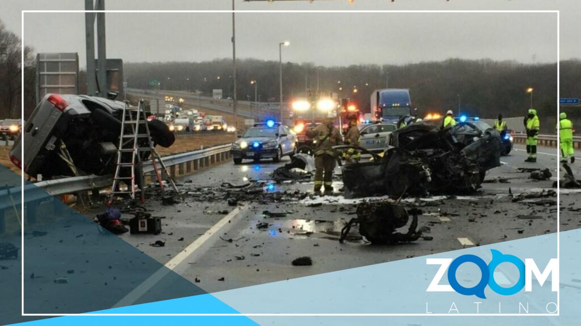 3 muertos en accidente de 4 vehículos I-95 en Dale City