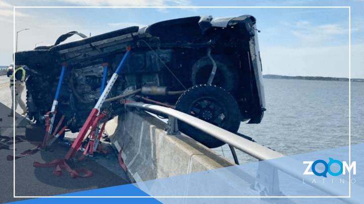VIDEO: Buen samaritano rescata a niño tras accidente en un puente en Ocean City