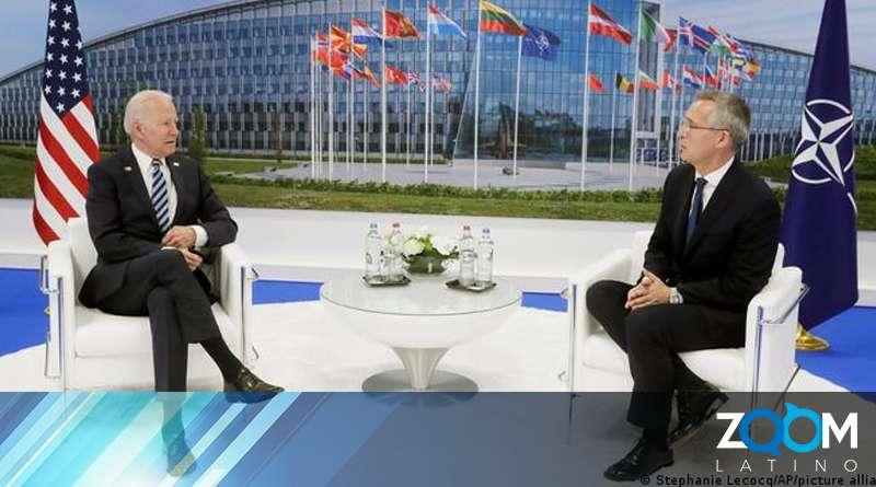 Biden continua en su viaje hoy en reuniones con la OTAN