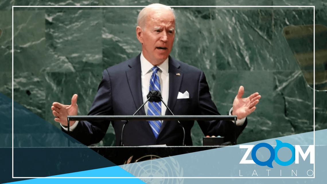 Biden debuta ante la las Naciones Unidas