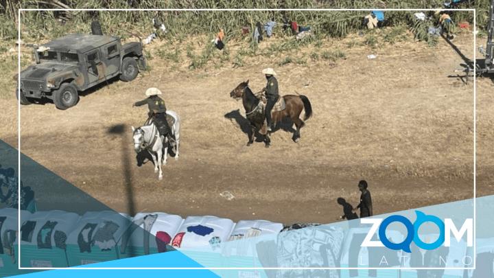 Controversia en el partido Demócrata tras fuertes imágenes en la frontera