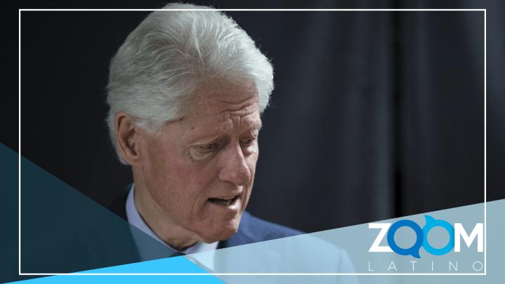 Ex presidente Clinton internado de emergencia